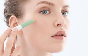 Apply moisturizer for acne prone skin before using your make up and/or concealer