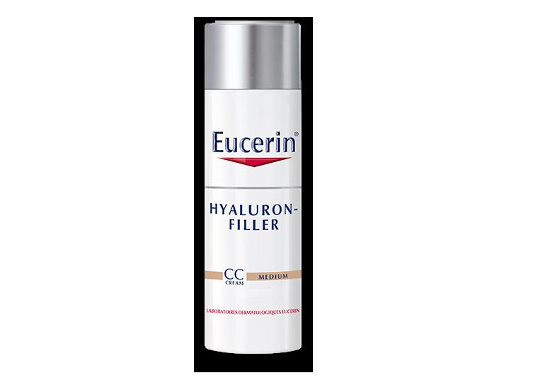 eucerin hyaluron filler cc cream medium. Black Bedroom Furniture Sets. Home Design Ideas