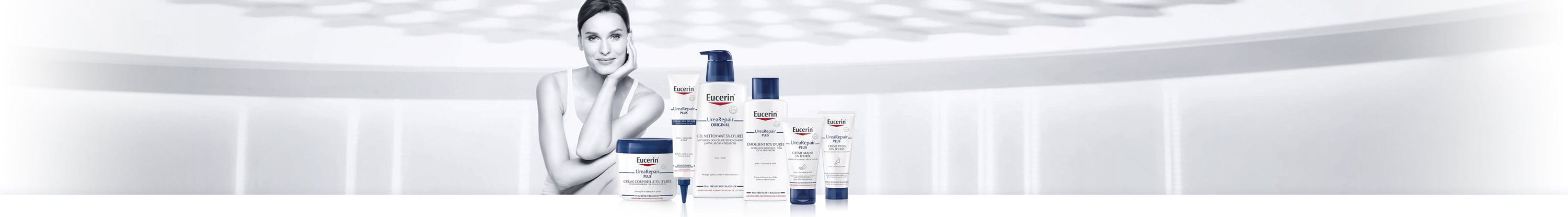 Dry skin products: Eucerin UreaRepair