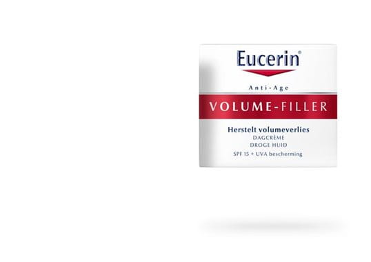 Eucerin: HYALURON-FILLER + VOLUME-LIFT   Dagcrème voor de droge huid   Antiveroudering